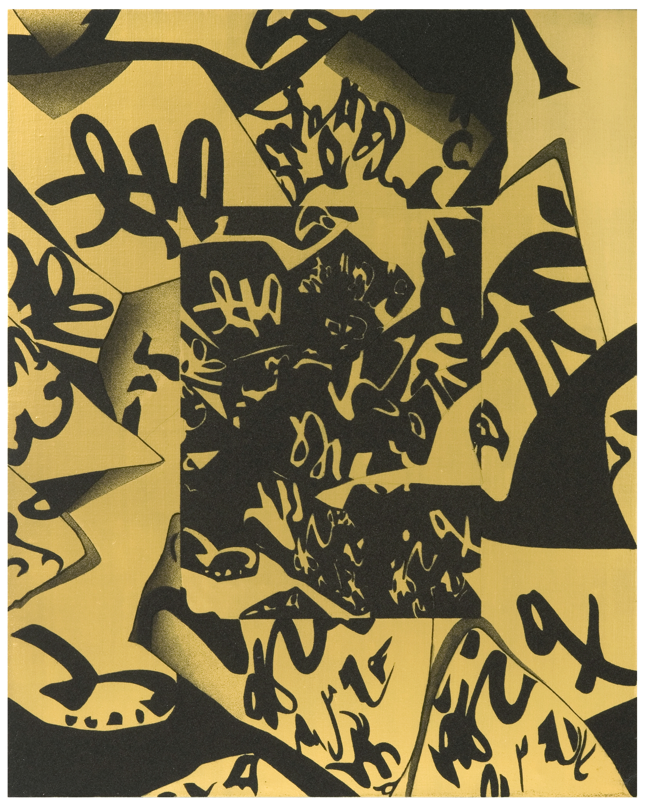 Matenità, 1997, cm 100 x 80, Acrilico e sabbia su tela