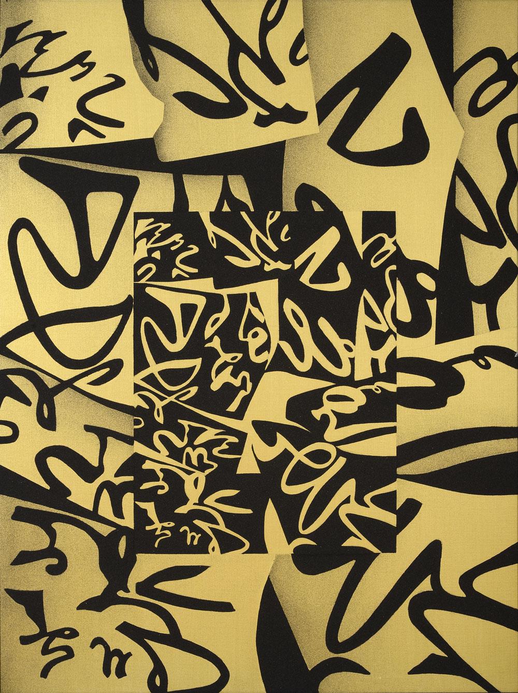Matenità, 1999, cm 160 x 120, Acrilico e sabbia su tela